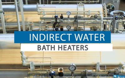 Indirect water bath heater